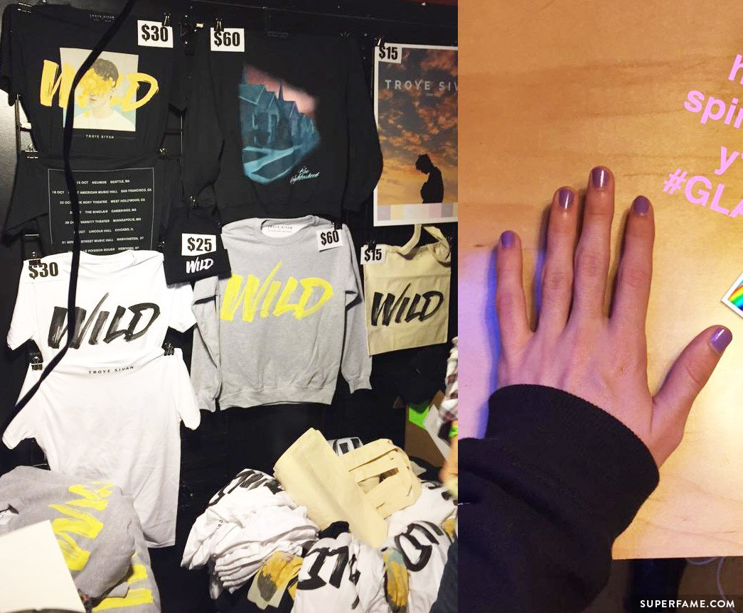 troye-sivan-merch-nails