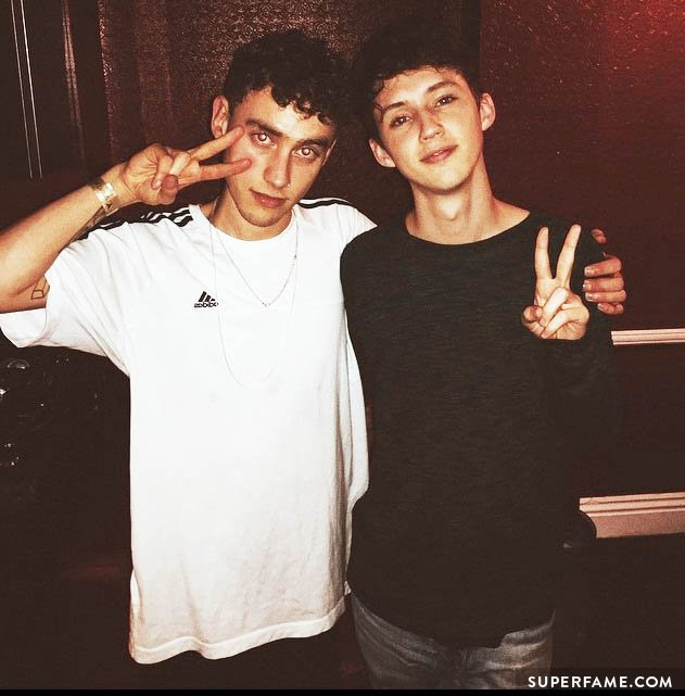 Troye and Olly.