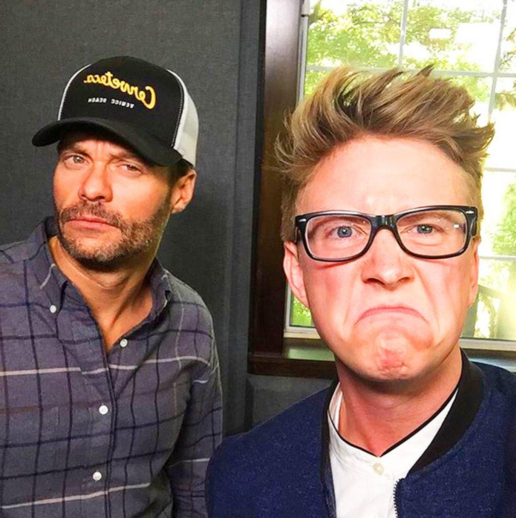 Tyler Oakley and Ryan Seacrest.