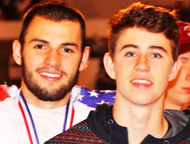 Will Grier with Nash Grier.