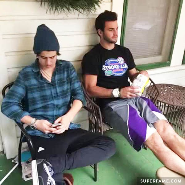 Will Grier and Nash Grier do it for the Vine. (Photo: Vine)