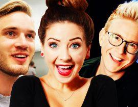Zoella, Tyler Oakley and Pewdiepie.
