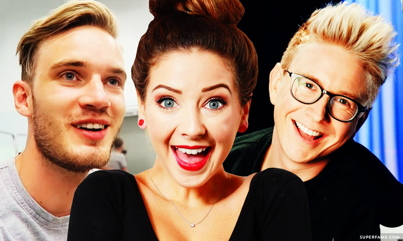 Zoella, Tyler Oakley and Pewdiepie.
