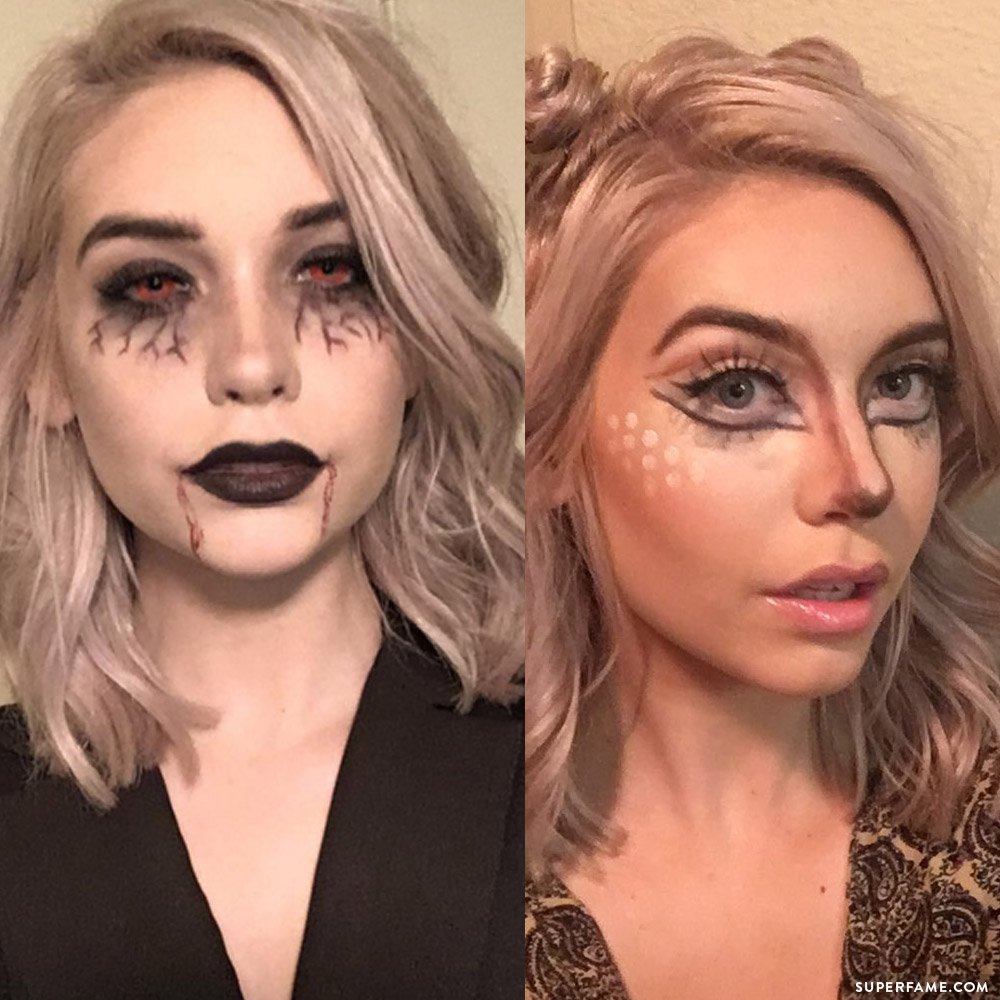 amanda-steele-halloween-makeup