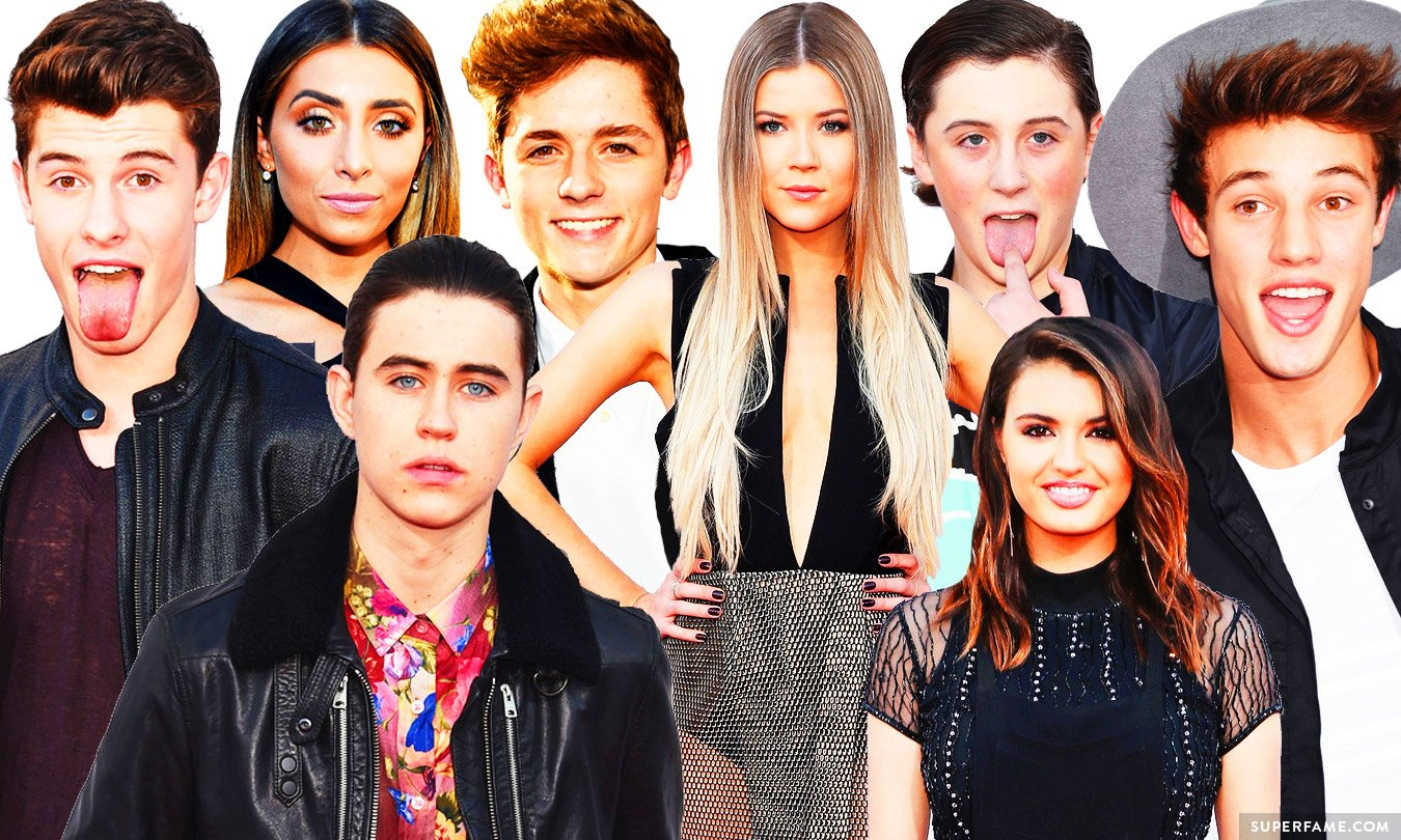 YouTubers & Viners at the American Music Awards Red Carpet ...