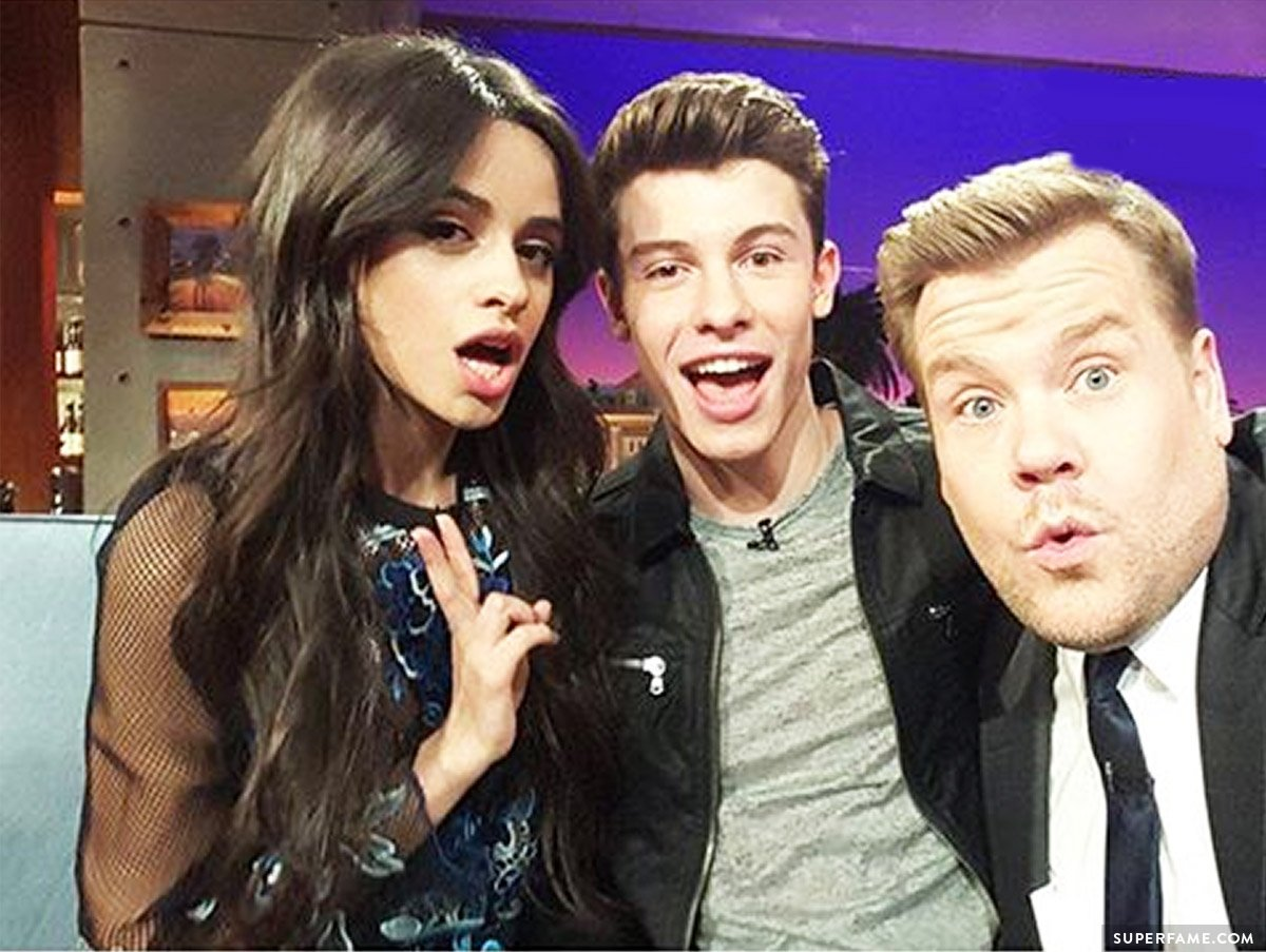 Camila, Shawn and James.