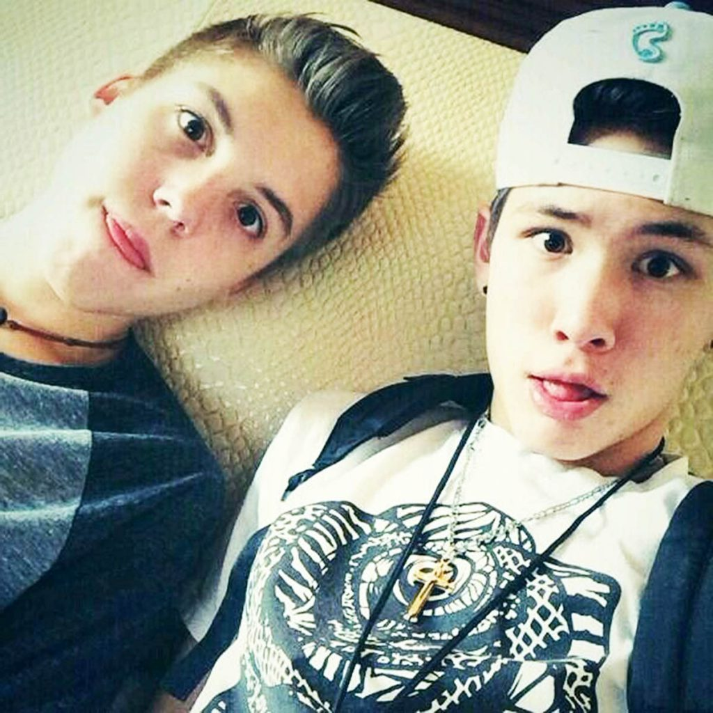 Carter and Matt.
