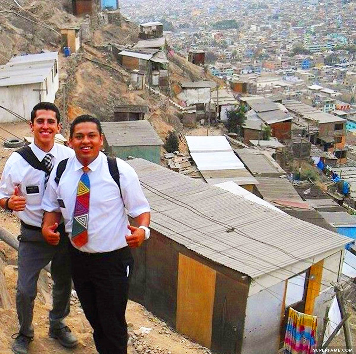 Where Chris lived during his Peru mission.