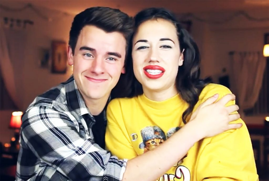 Miranda Sings and Connor Franta.
