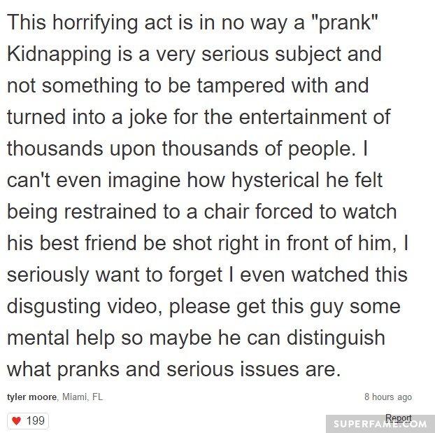horrifying