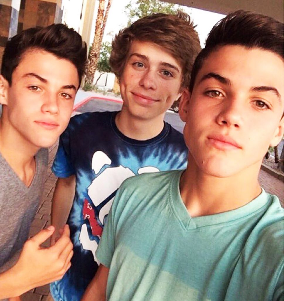 Jack Dail with the Dolans.