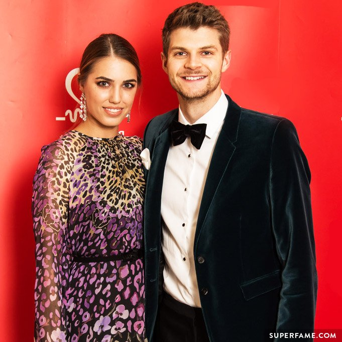 Jim Chapman and Amber Le Bon. (Photo: Getty)