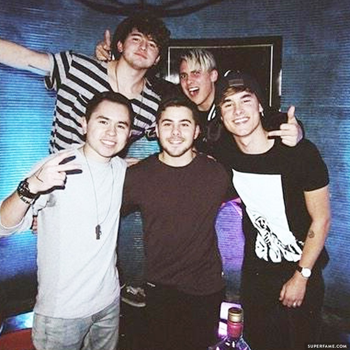 Kian, Dom, JJ, JC.