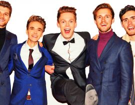 Joe, Caspar, Jim, Marcus and Alfie.