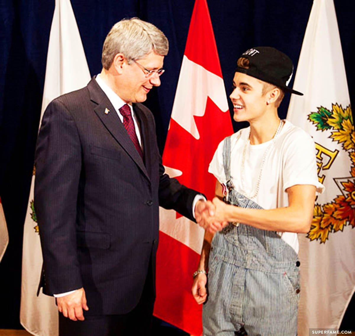 Canadian export Justin Bieber.