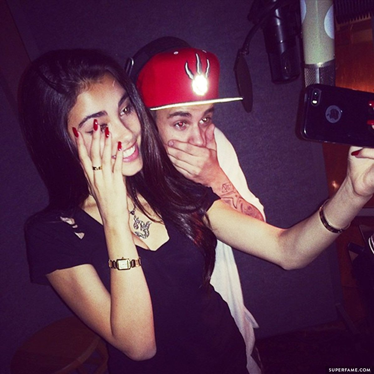 Madison and Justin.
