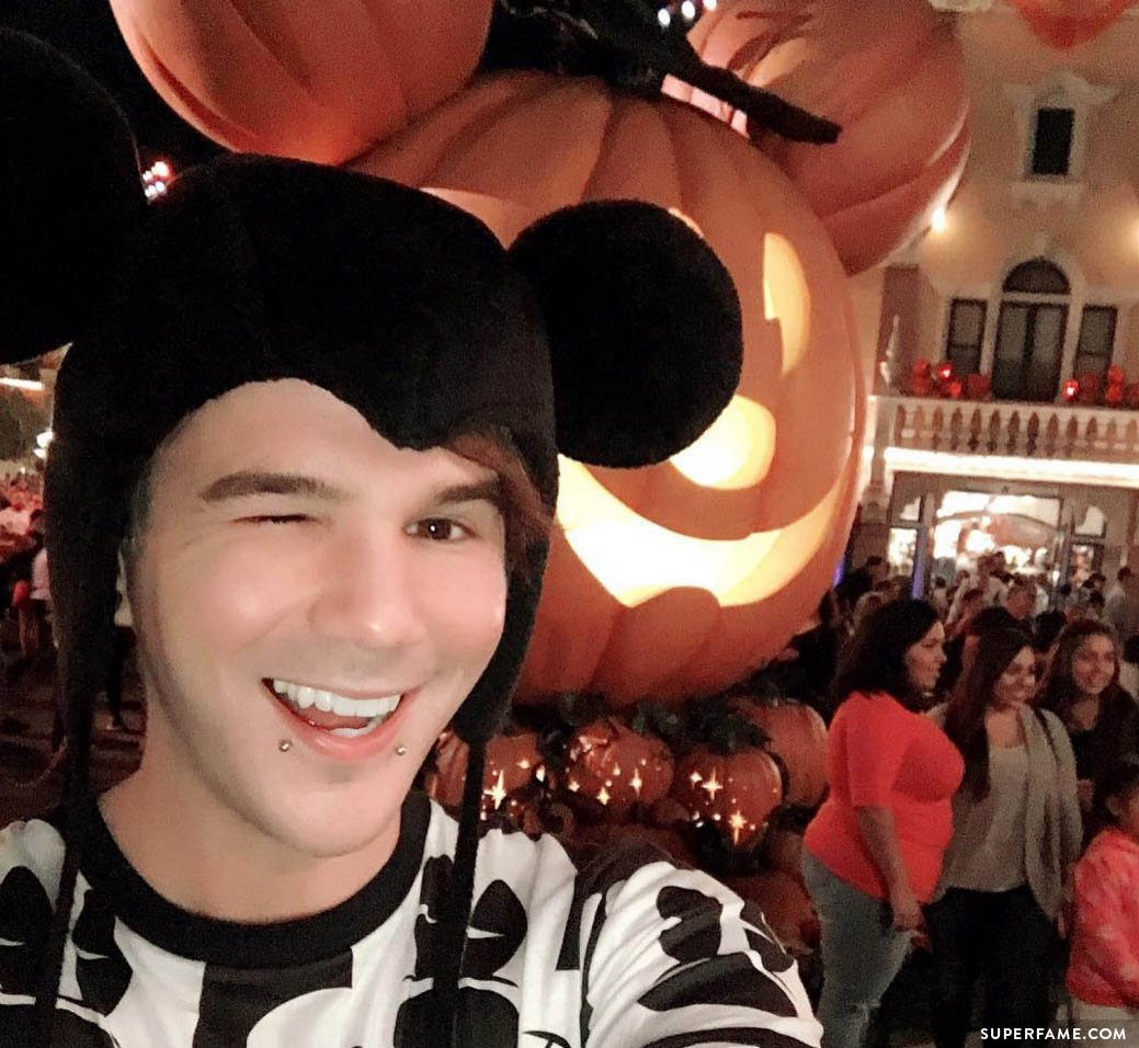 Matt at Disney.