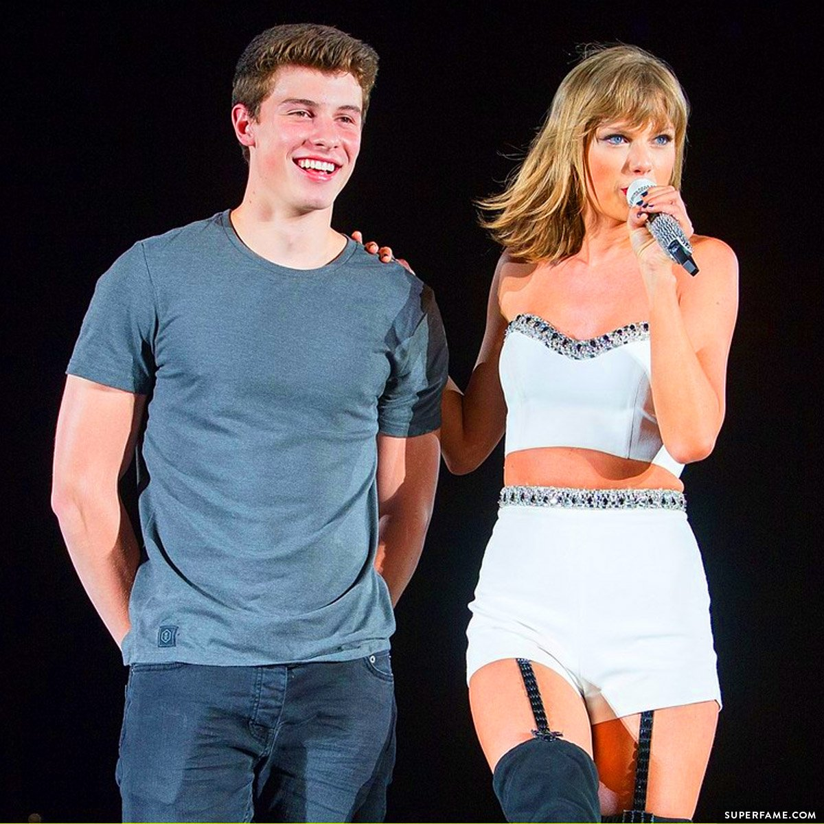 Taylor Swift and Shawn Mendes.