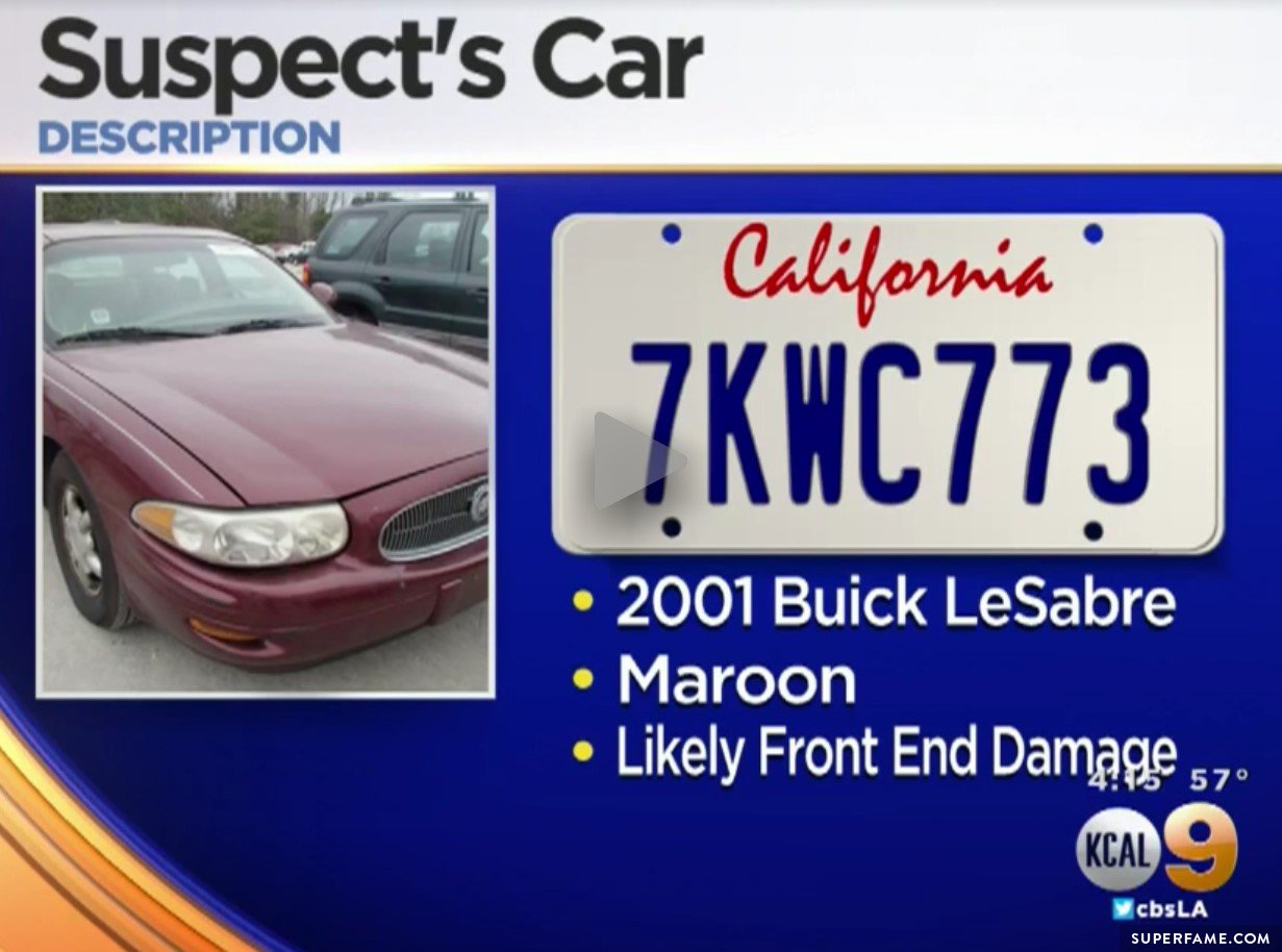 Suspect car.
