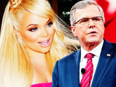 Trisha Paytas with Jeb Bush.