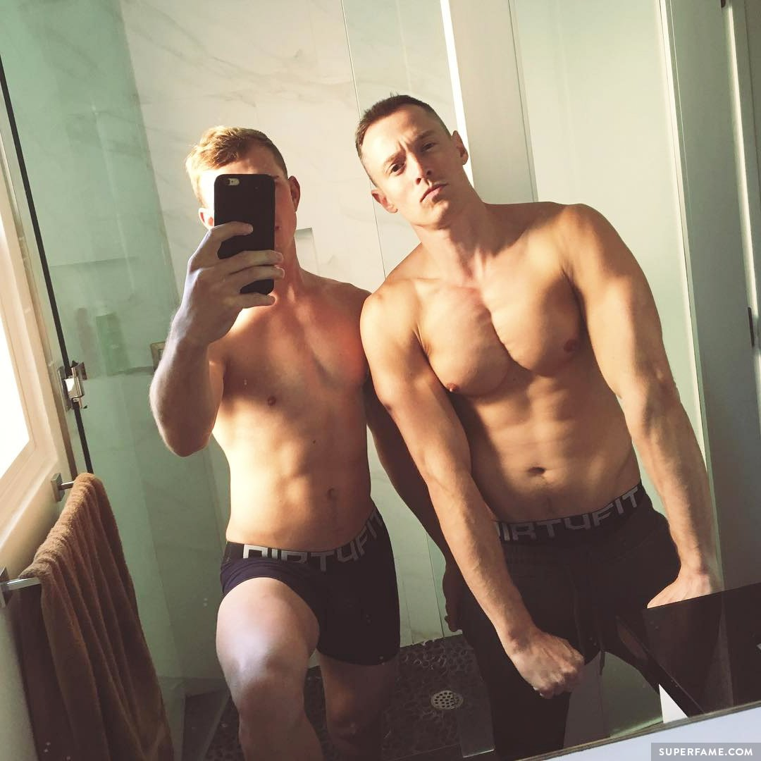 Daveywavey and Jake.