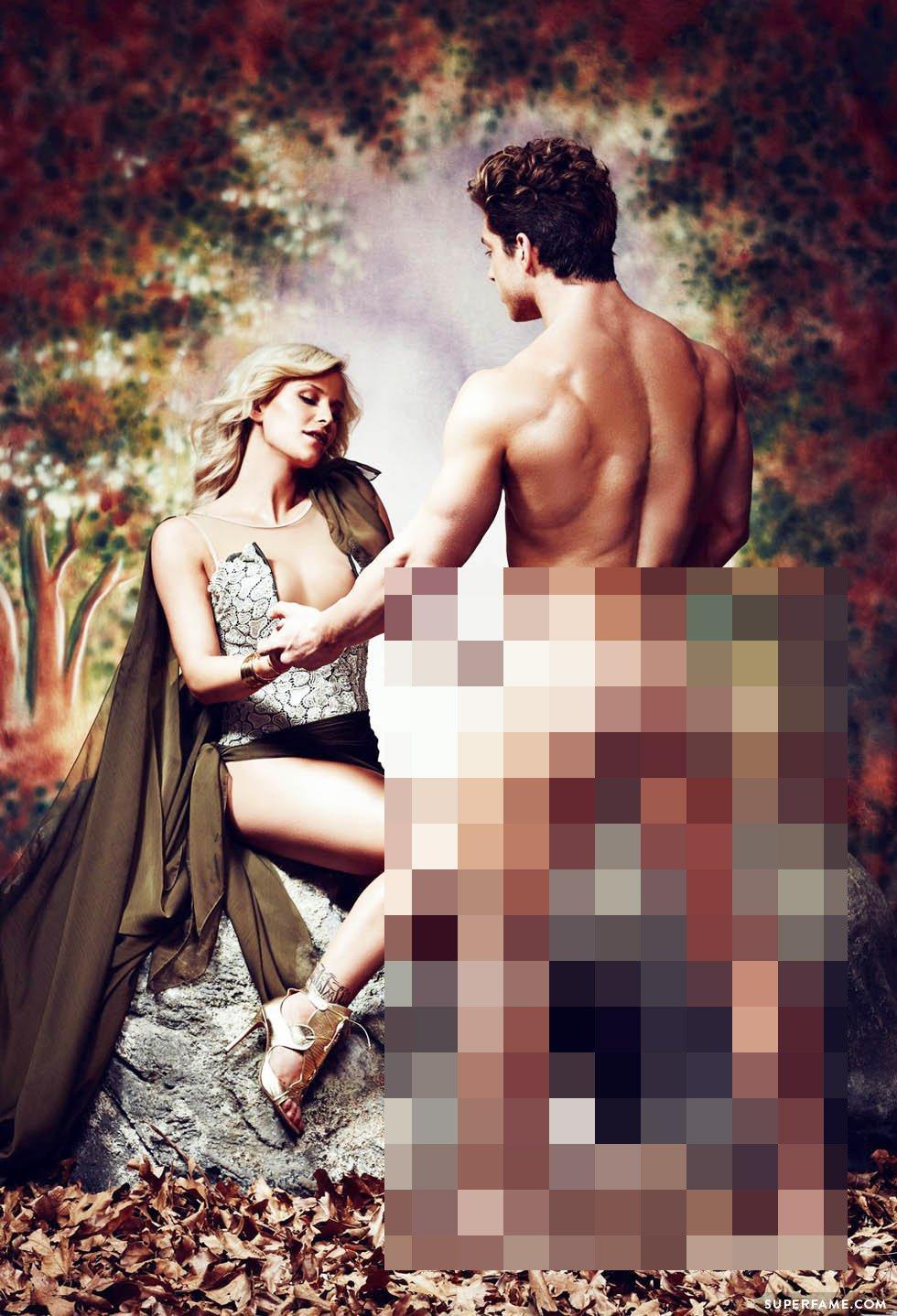 Gigi Gorgeous' naked scenes.