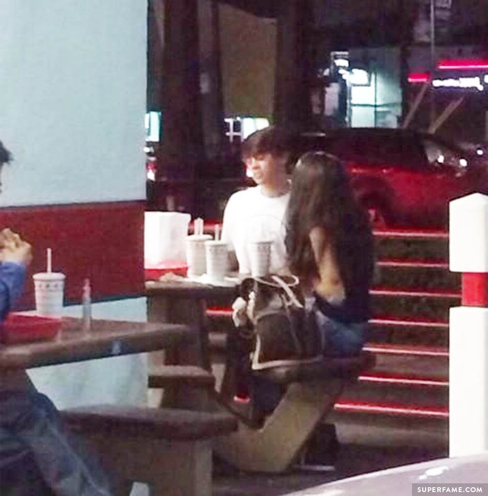 Fan spots Hayes Grier hanging out with Madison. (Photo: Instagram)