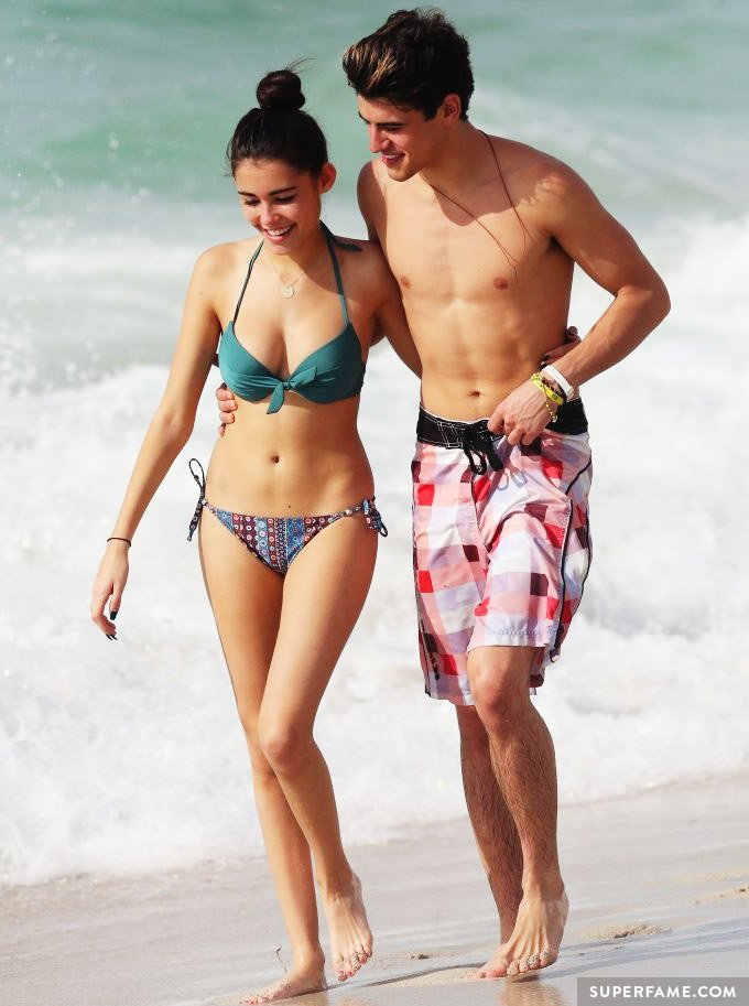 Madison and Jack, in a bikini.