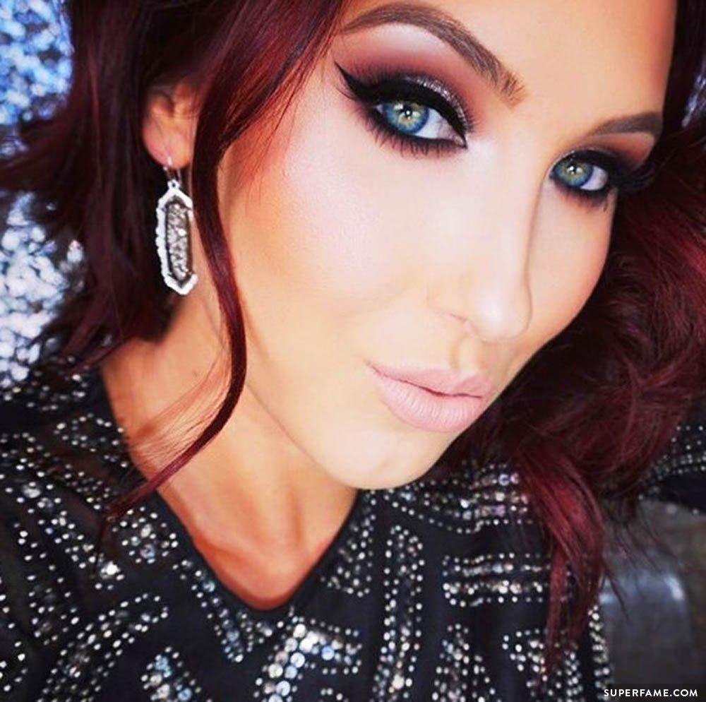 Jaclyn Hill's dark makeup.