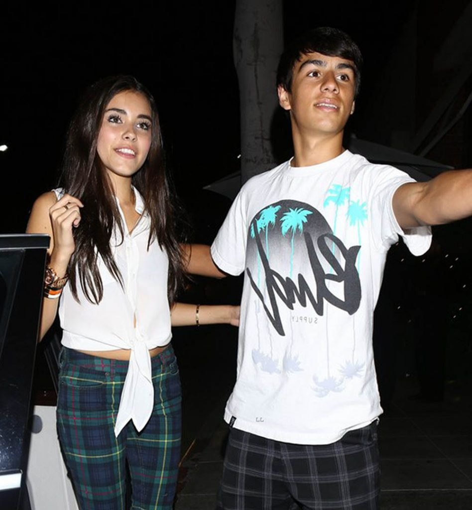 Madison Beer with a guy.