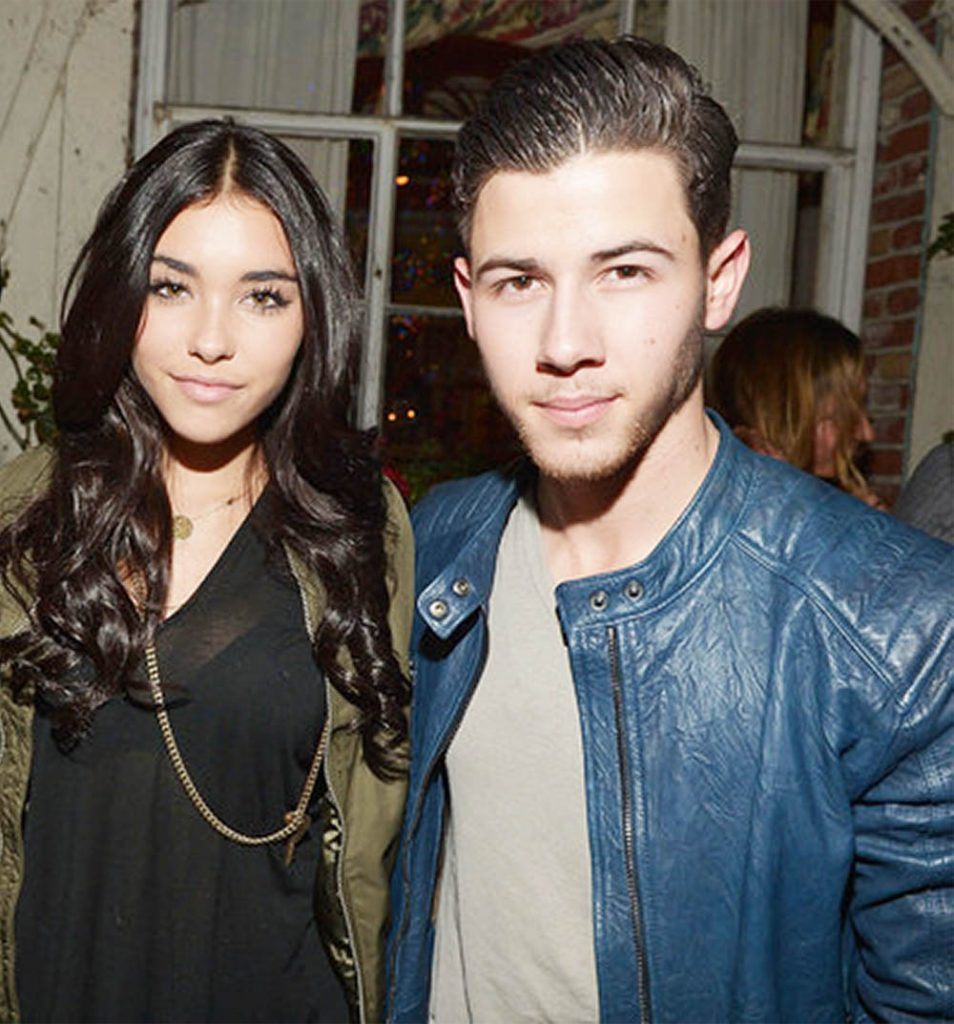 Madison Beer and Nick Jonas.