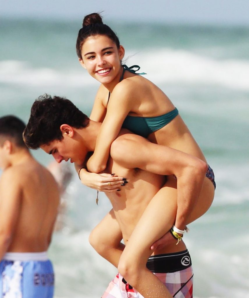 Thoughtful boyfriend Jack gives Madison a piggyback ride. (Photo: Getty)