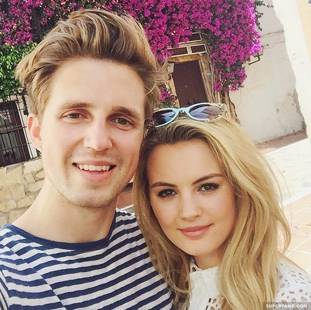Marcus Butler's girlfriend.
