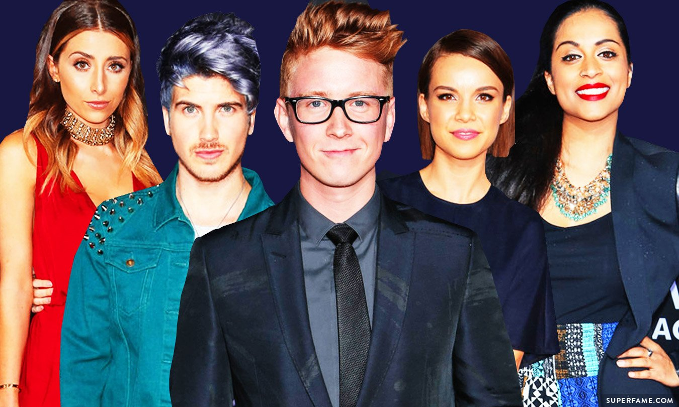 Tyler Oakley and friends.