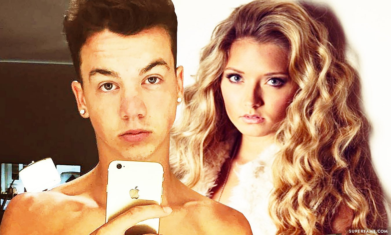 Molly Gilles and Taylor Caniff. Girlfriend?