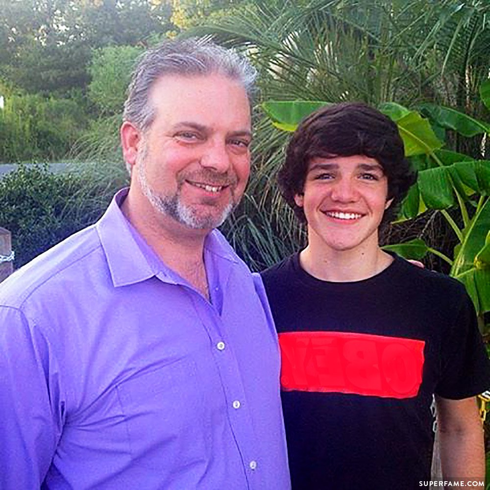 Aaron Carpenter's stepdad.