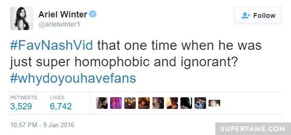 ariel-homophobic