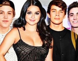 Ariel Winter, Hayes Grier, Matt Espinosa and Sammy Wilk.