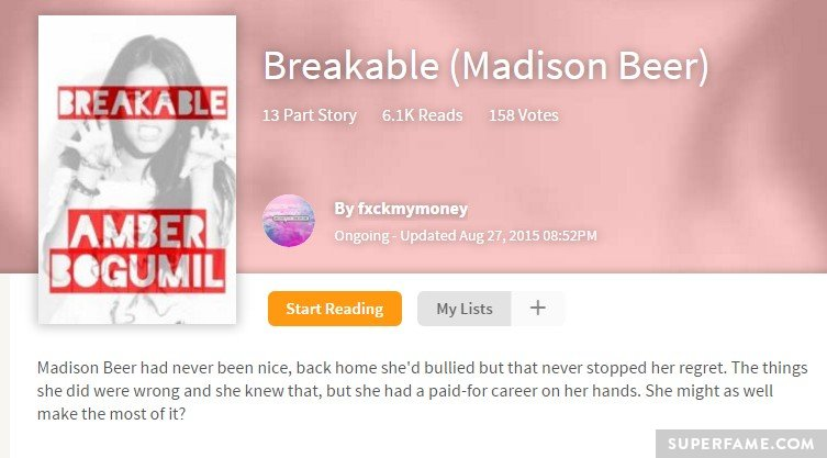 Breakable Madison.