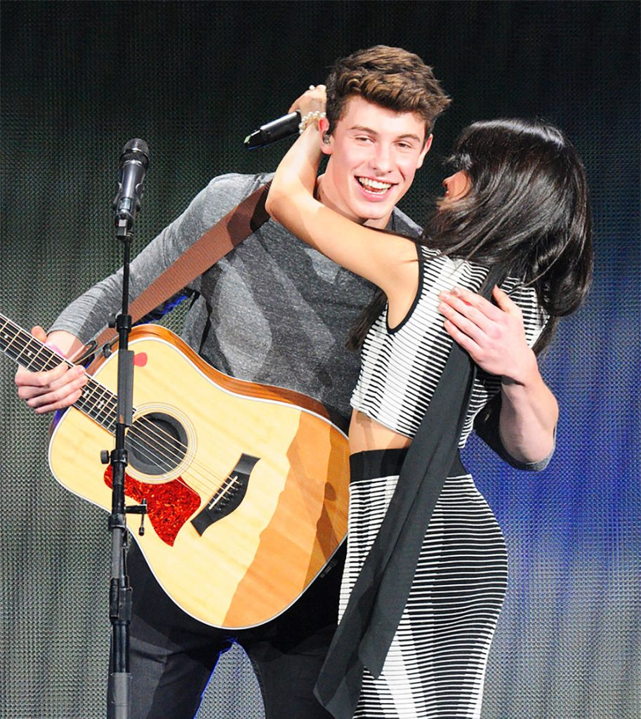 Camila and Shawn.