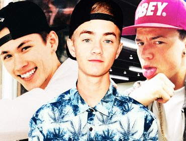 Carter Reynolds, Jack Johnson and Taylor Caniff.
