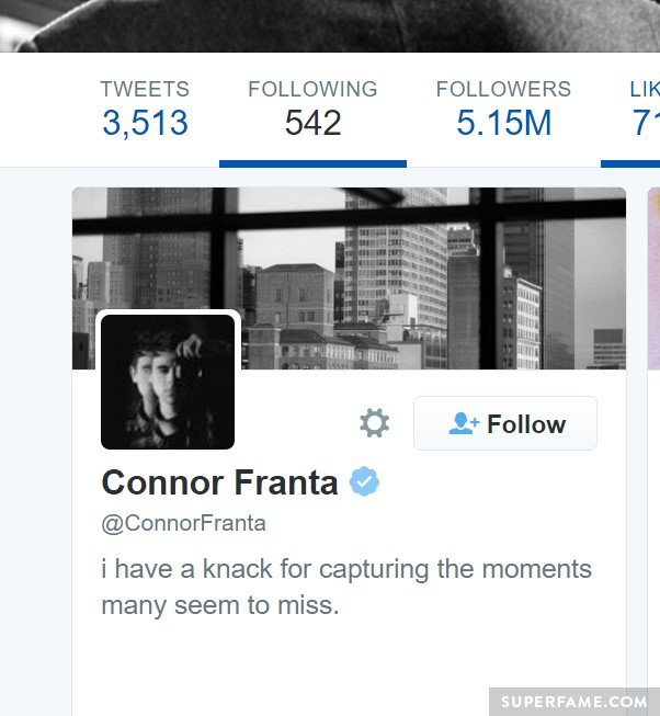 Connor followed by Hillary.
