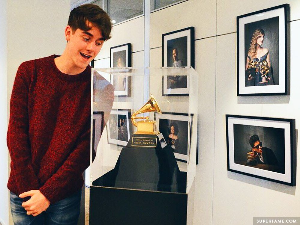 Connor franta could he win a grammy in the future photo instagram