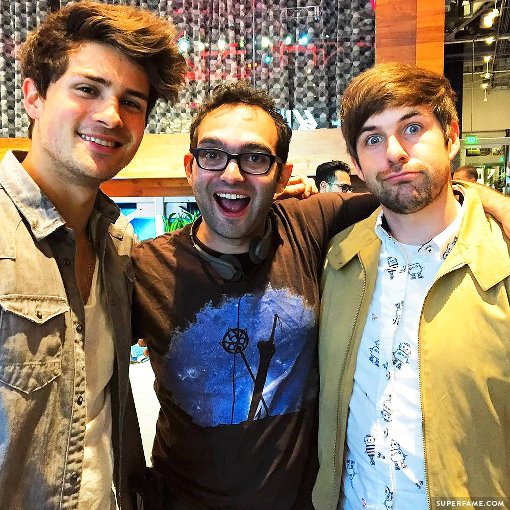 Fine Bros with Smosh.