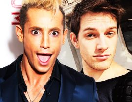 Frankie Grande with boyfriend.