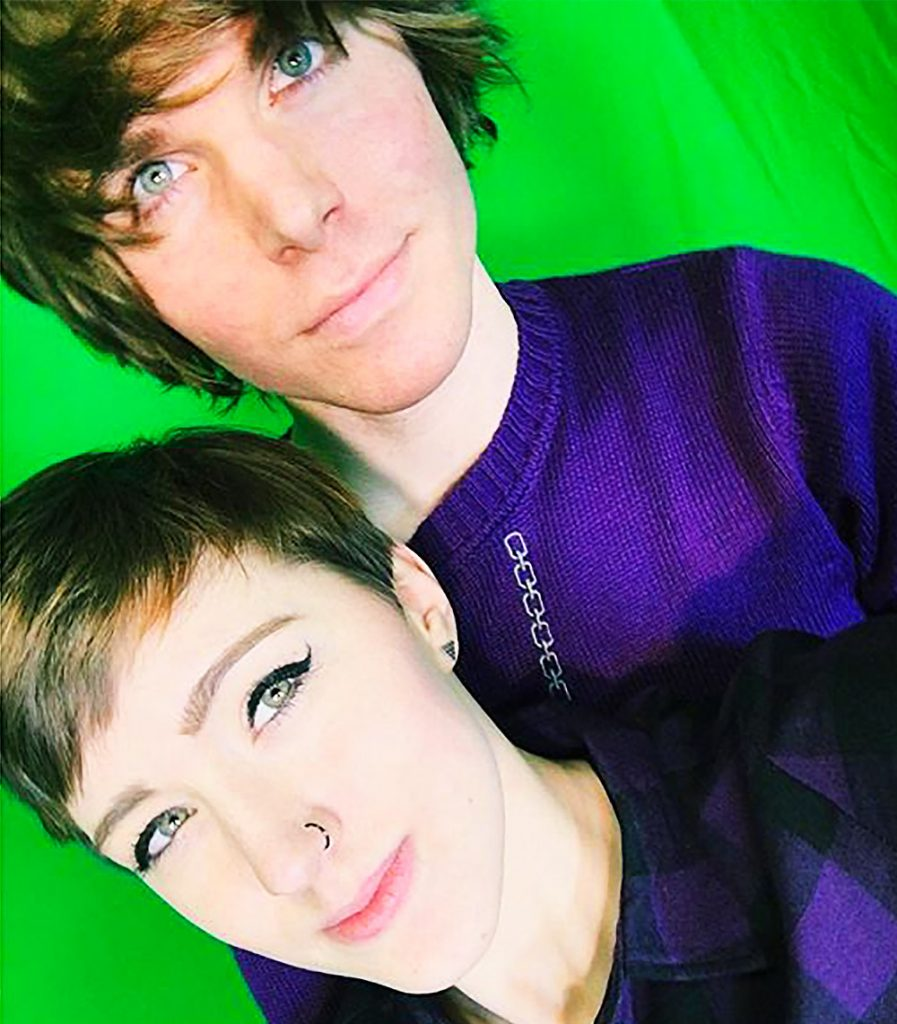 Laineybot and Onision.