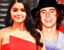 Ariel Winter and Nash Grier.