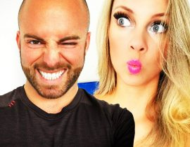 Nicole Arbour and Matthew Santoro.