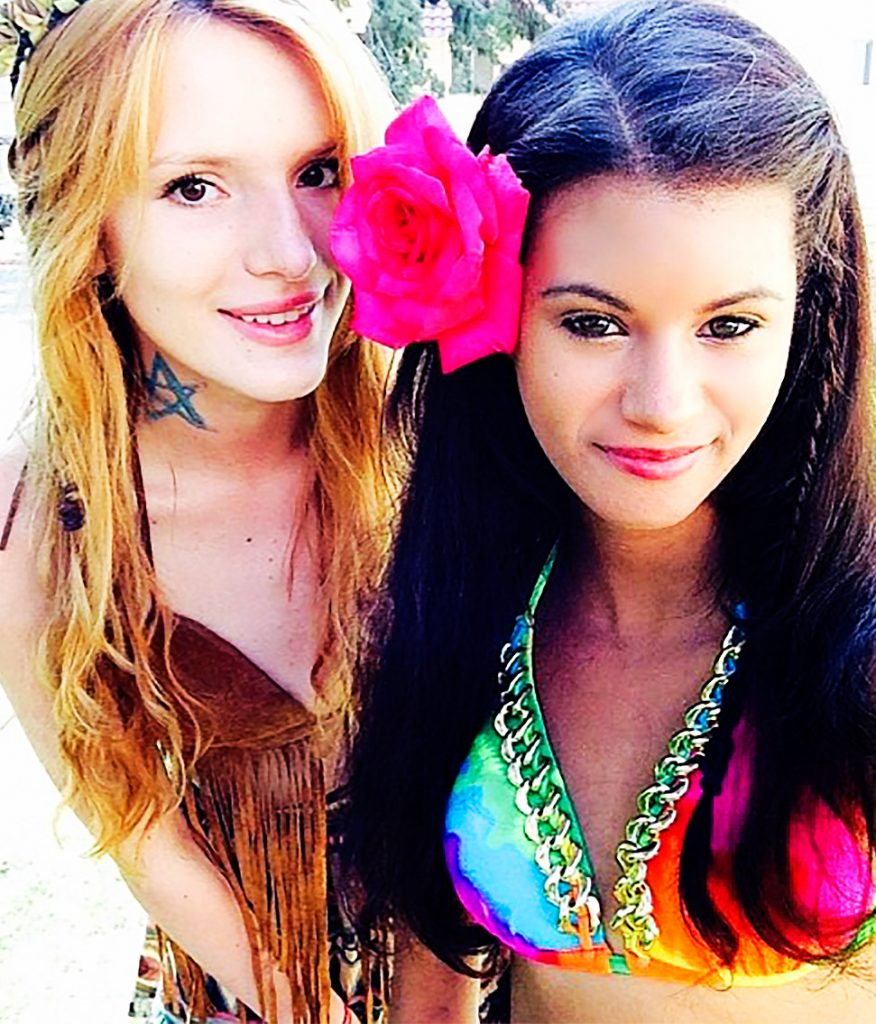 Olivia Grace and Bella Thorne are best friends. (Photo: Instagram)