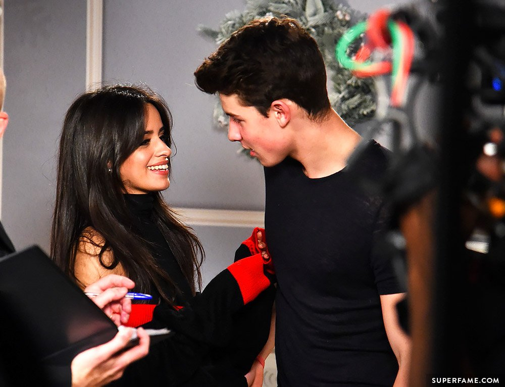 Shawn and Camila.